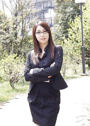 Japanese in Glasses Pics