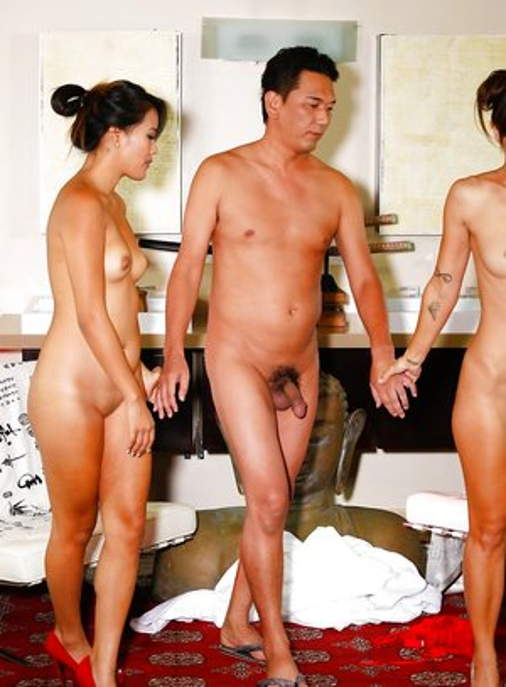 Japanese Threesome Pics